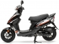 Preview: Nova Motors Energy 49ccm, Euro 4, schwarz-orange, 45km/h Mokick ohne TopCase
