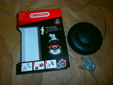 "OREGON Gator SpeedLoad ""Large"" 130mm Fadenkopf f. Freischneider m. gerader Welle"