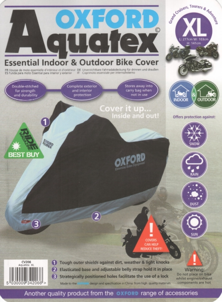 OXFORD Aquatex-Faltgarage, Abdeckplane XL